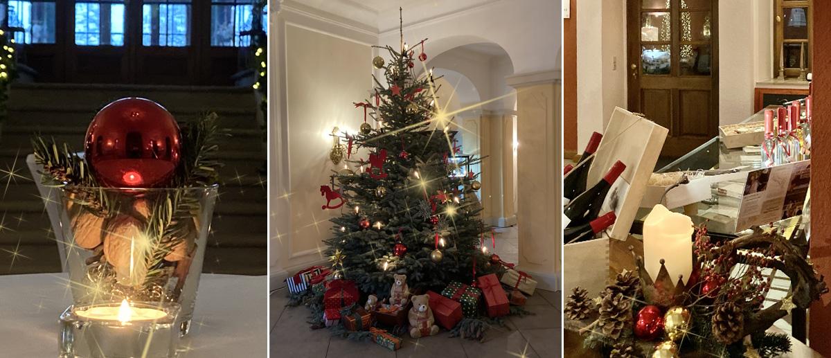 Frohe Weihnachten wünscht Schloss Proschwitz